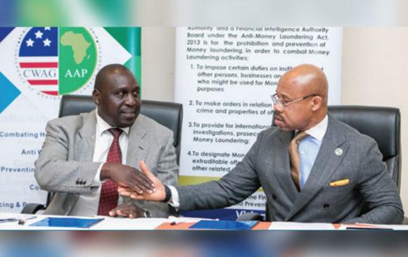 MOU Signing Ceremony With The Financial Intelligence Authority (FIA), Uganda