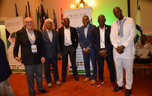 AGA AAP At The 21st Commonwealth Law Conference, Livingstone, Zambia.